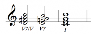 Secondary Dominant - V of V